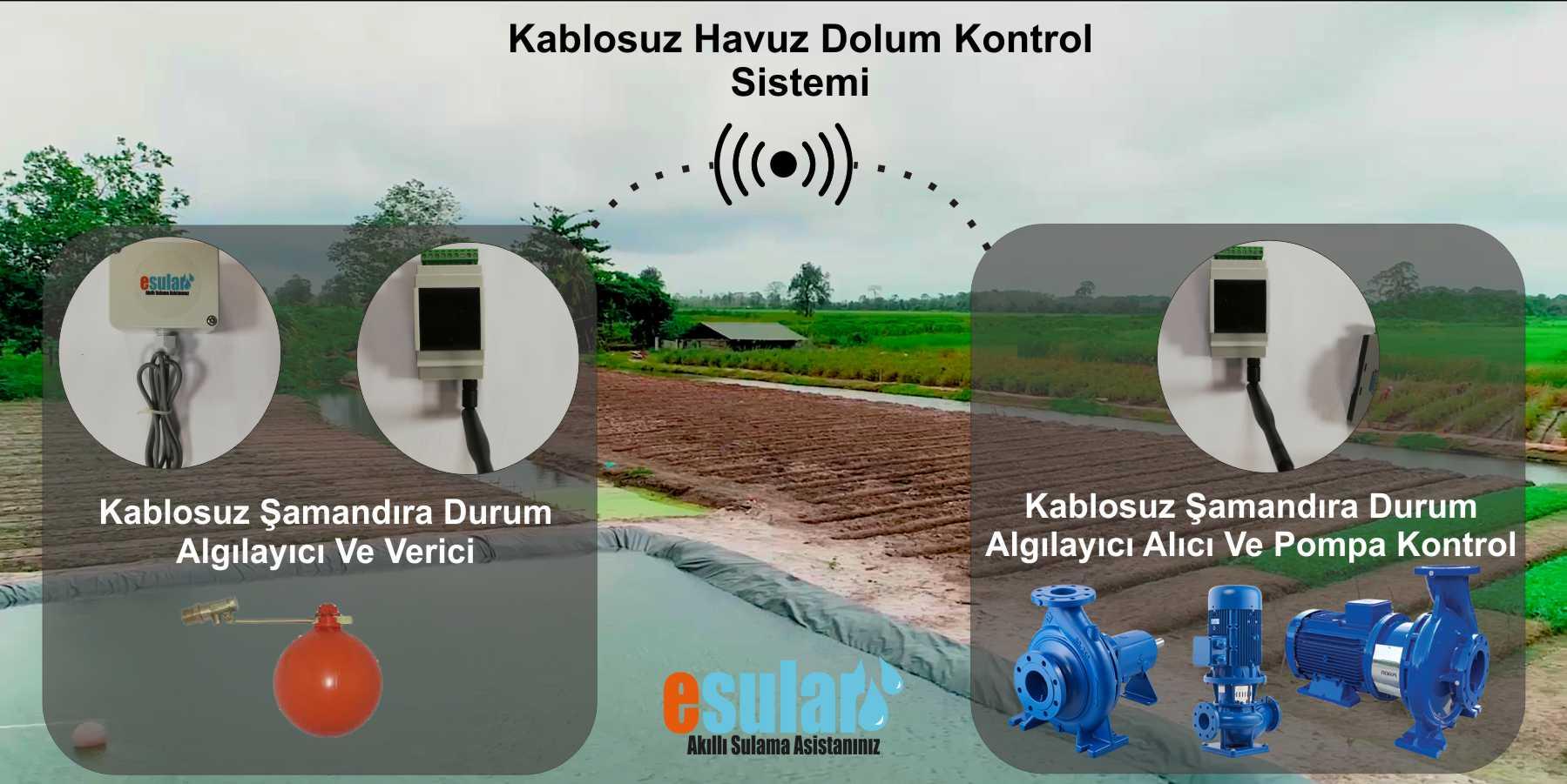 Kablosuz Havuz Doldurma Kontrol Sistemi